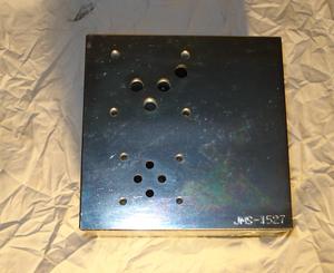 R-1000 Ventilblock stål JMS-1527