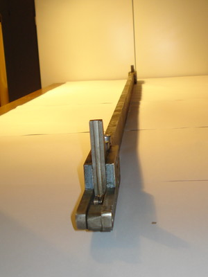 Kopplade regelbrädesmedbringare L=1644mm