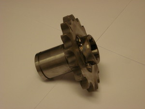 Standard Drivhjul P5/8-17